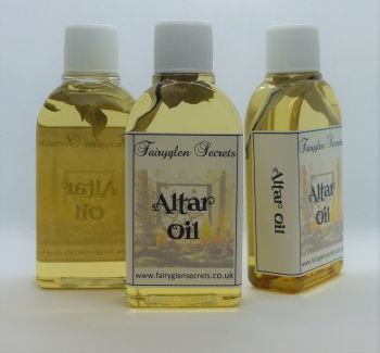 Altar Oil for Consecration of Tools & Cleansing