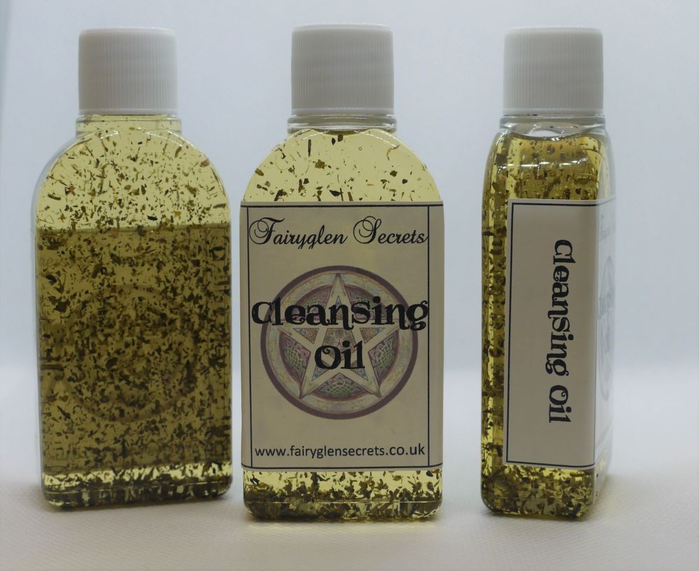Cleansing Spell Oil to Clear Negative Energies