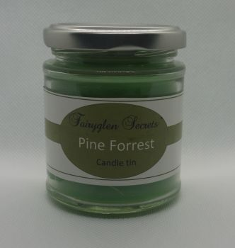 """Pine Forest"" Candle Jar"