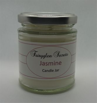 """Jasmine"" Fragranced Candle Jar"