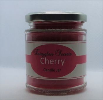 """Cherry"" Fragranced Candle Jar"