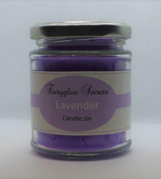 """""""Lavender"""" Fragranced Candle Jar"""
