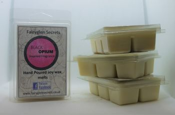 """Black Opium"" Inspired Fragrance Soy Wax melts"
