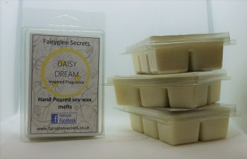 """Daisy"" Inspired Fragrance Soy Wax  melts"