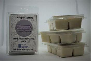 """Invictus"" Inspired Fragrance, Clam Shell Soy Wax Melts"
