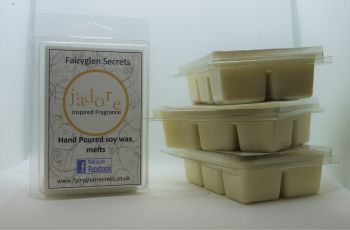 """J'adore"" Inspired Fragrance soy wax melts"