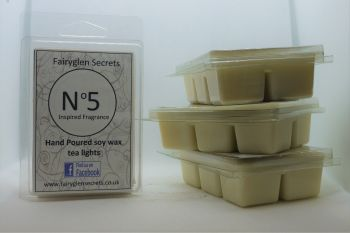 """Number 5"" Inspired Fragrance Soy Wax melts"
