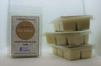 """One Million"" Inspired Fragrance soy wax melts"