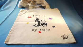 """Tools of My Trade"" cotton bag Medium"