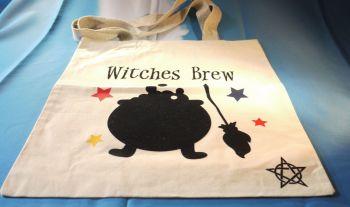 """Witches Brew"" Cotton Bag Medium"