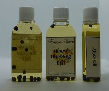 House Blessing Oil for Cleansing and Protection