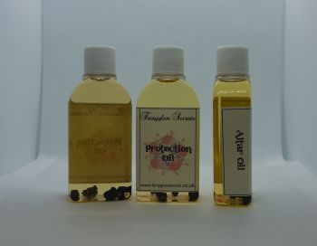 Protection Oil to protect from negative energy