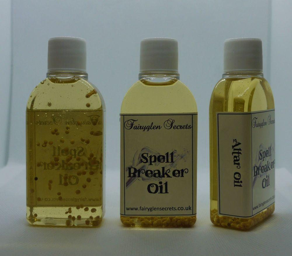 Spell Breaker Oil to Break Hexes