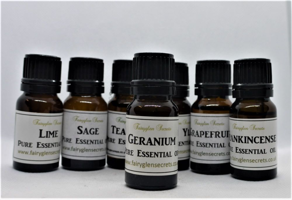 10ml Geranium Pure Essential Oil