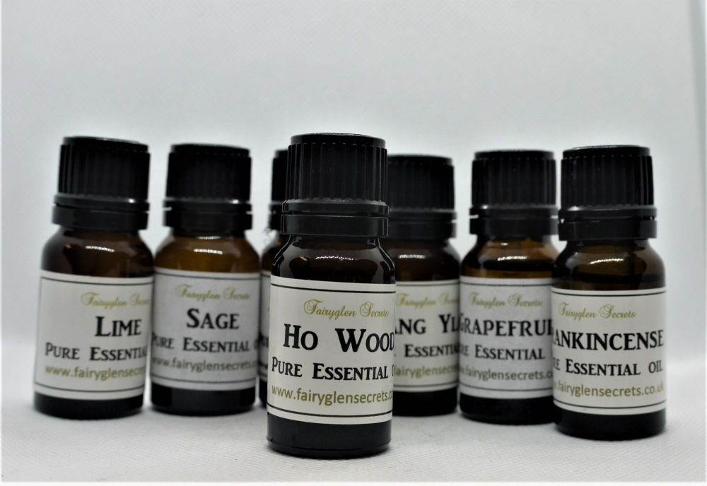 10ml Ho Wood Pure Essential Oil