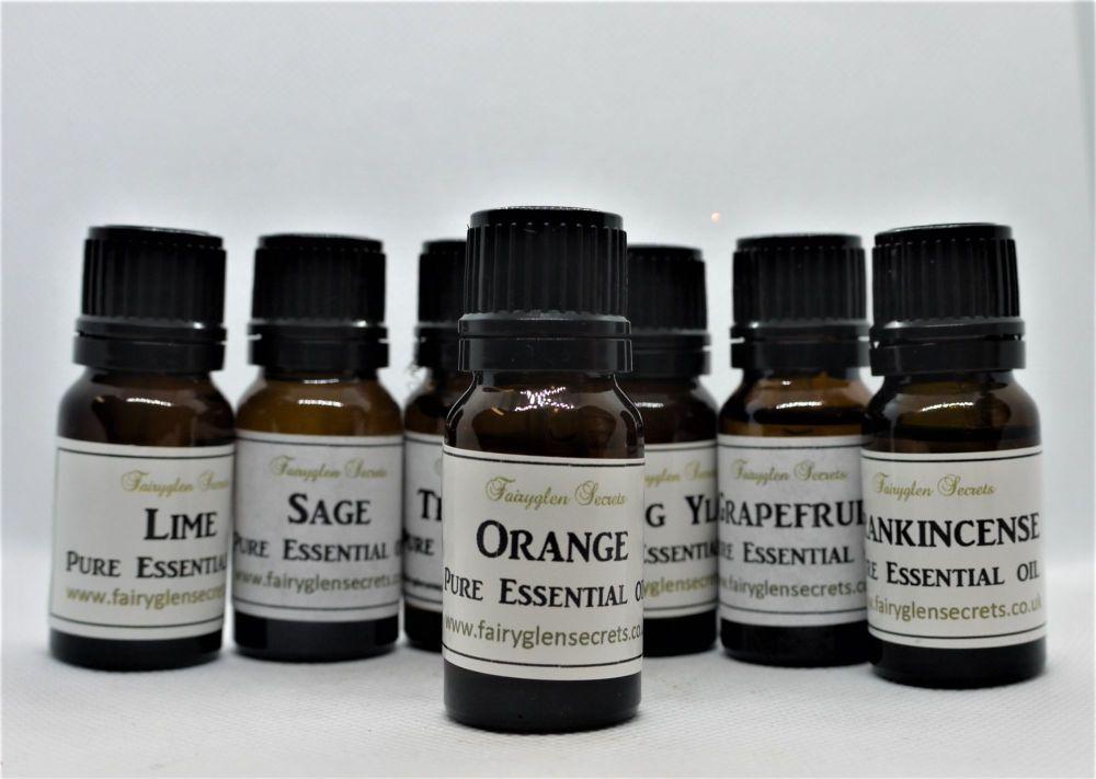 10ml Orange pure essential oil