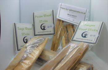 .Sage Wood Sticks