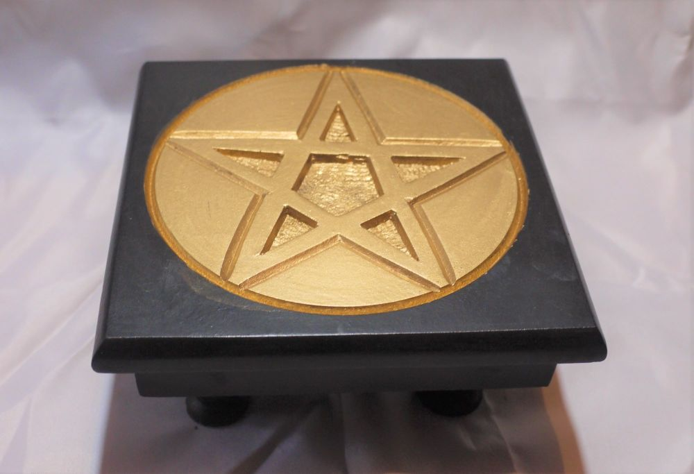 Small Pentagram Altar Table