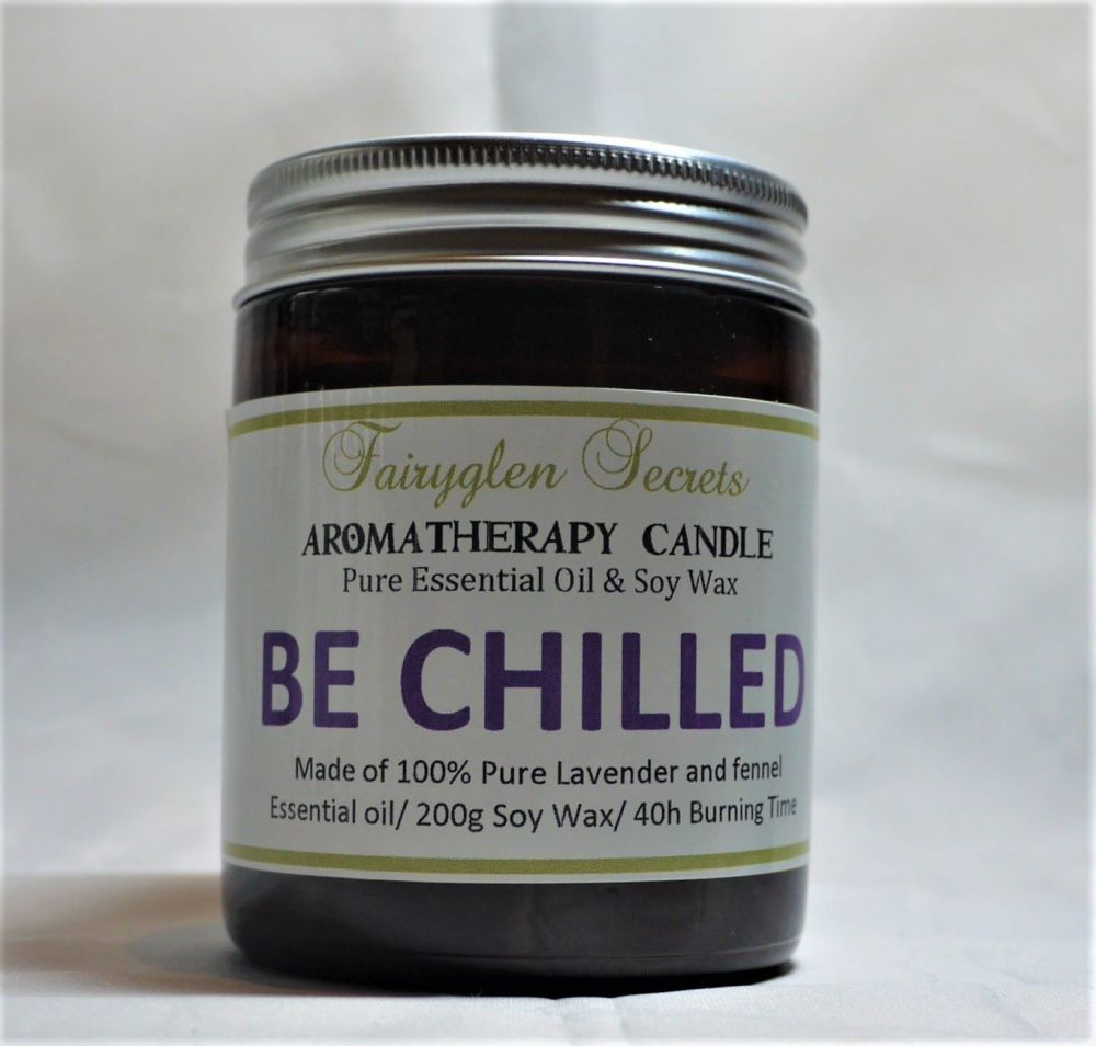 Aromatherapy Candle - Be Chilled