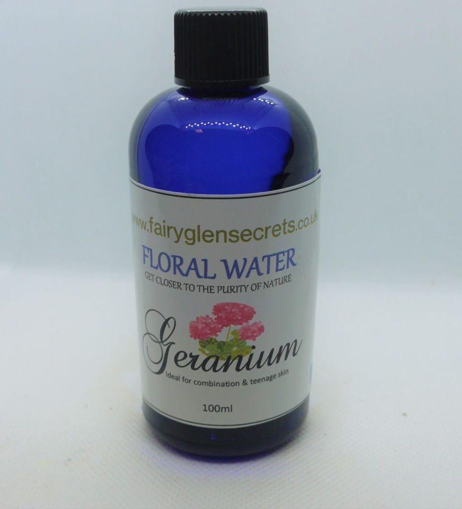 Floral water Geranium