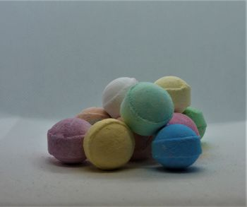"""Blueberry"" Fragranced Mini Bath Bomb"