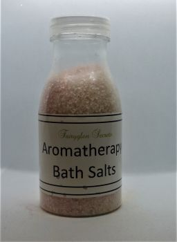 Aromatherapy Bath Salts - Light Pink - Benzion, Ginger & Orange essential oils