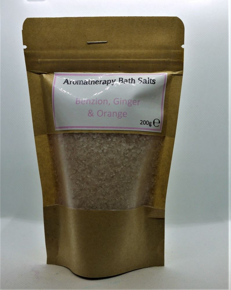 Aromatherapy Bath Salts - Light Pink