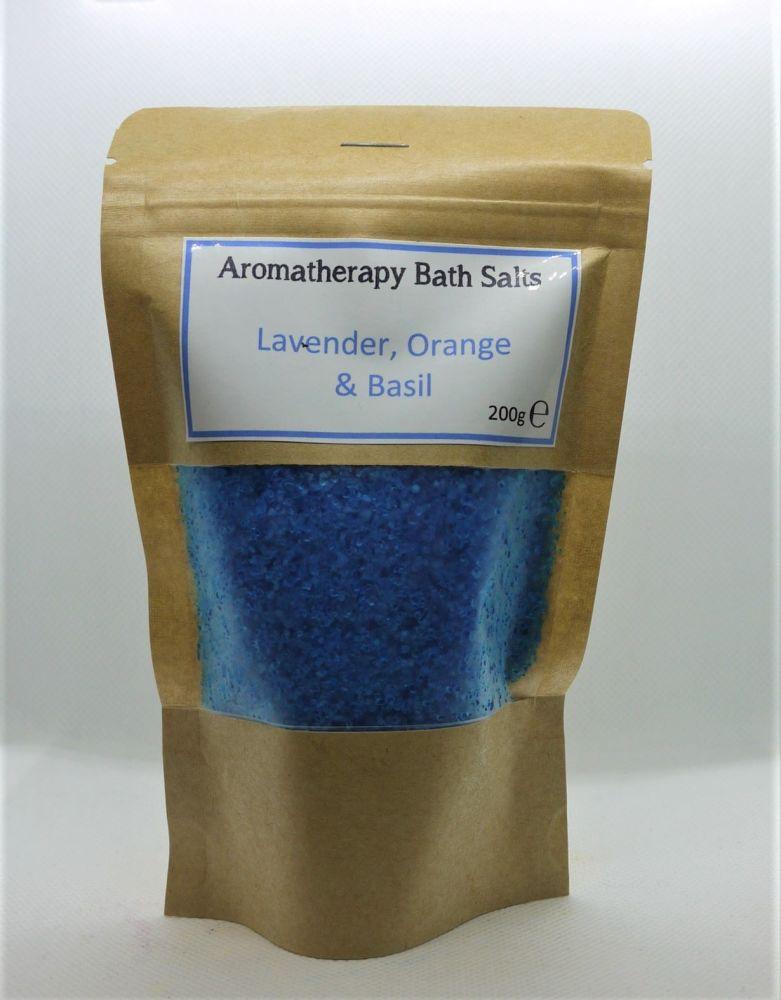 Aromatherpapy bath salts - Dark Blue