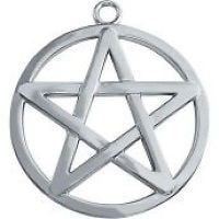 Pentacle key ring/ Bag charm