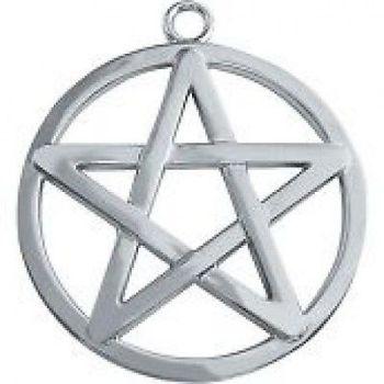 Pentacle key ring/ Bag charm