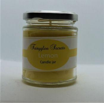"""Lemon"" Fragranced Candle Jar"