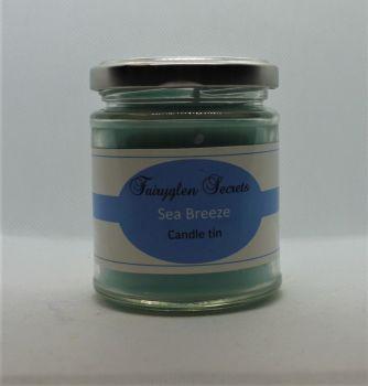 """Sea Breeze"" Fragranced Candle Jar"