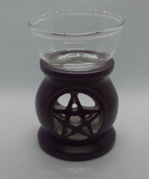 Soapstone Pentagram oil Burner
