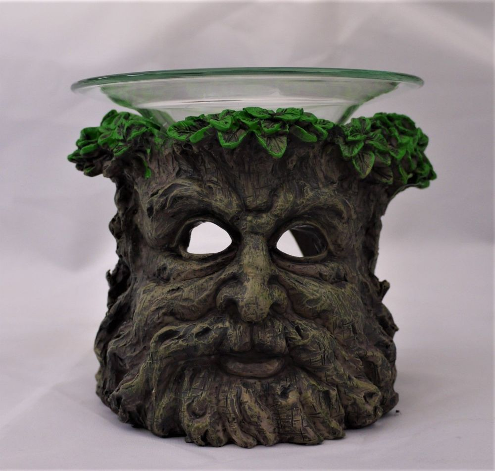 Green Man Oil Burner