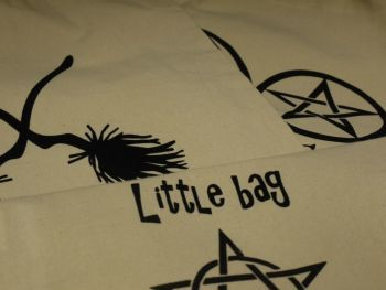 Cotton Printed witch bags