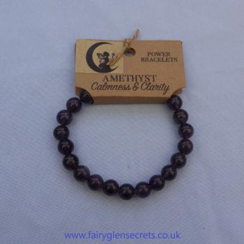 Power Bracelet - Amethyst