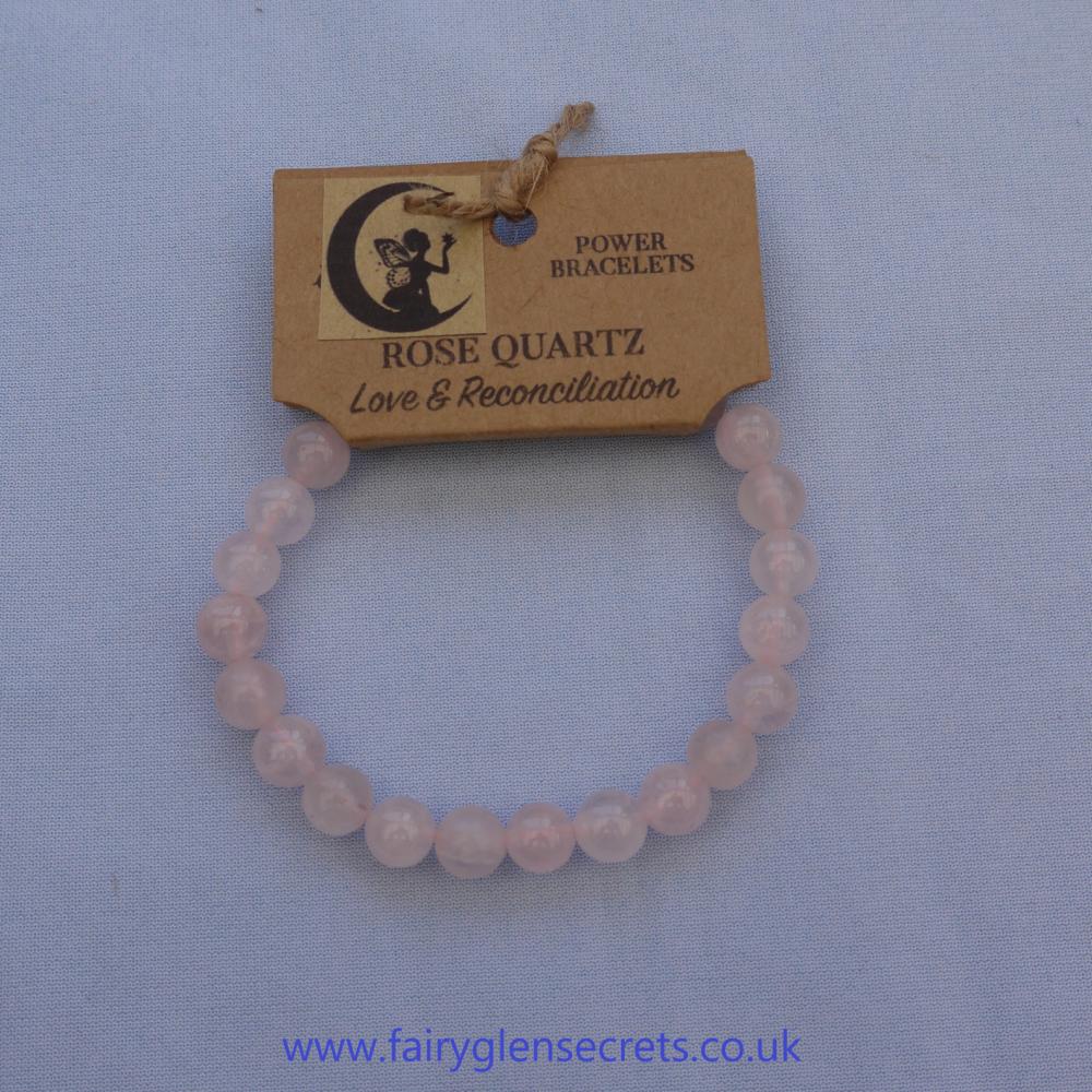 Powe Bracelet - Rose Quartz