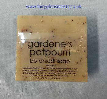 Gardeners pot pourri Botanical Soap