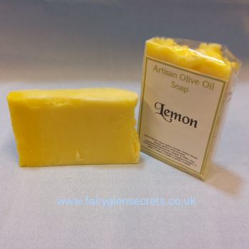 Lemon Olive Oil Soap