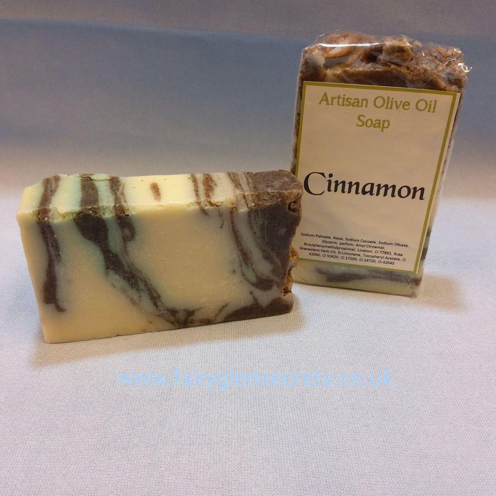 Cinnamon Olive Oil Soap