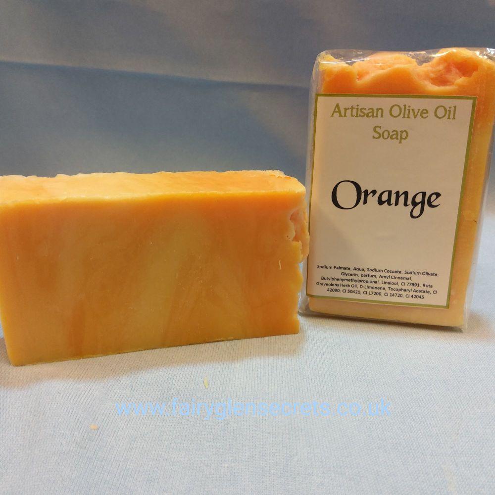 Orange Olive Oil Soap