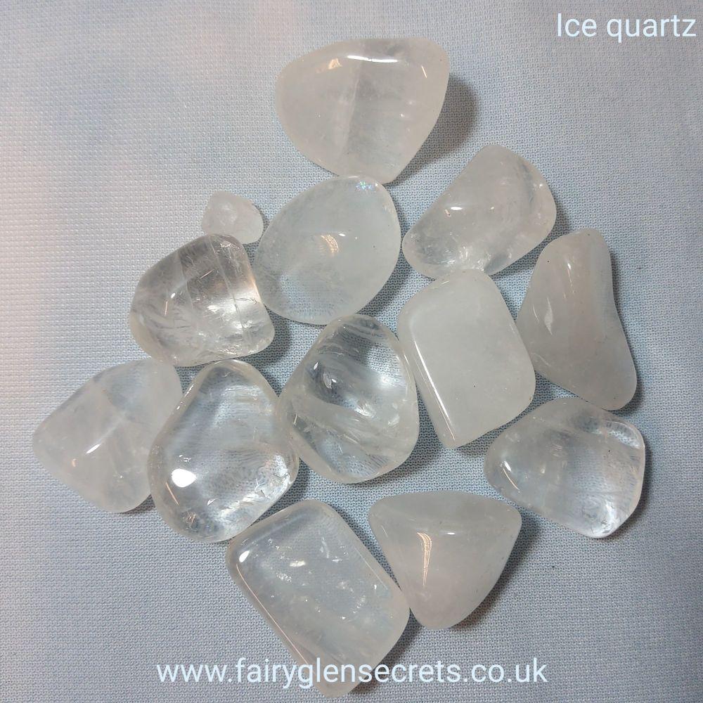 Ice Quartz Tumble Stone