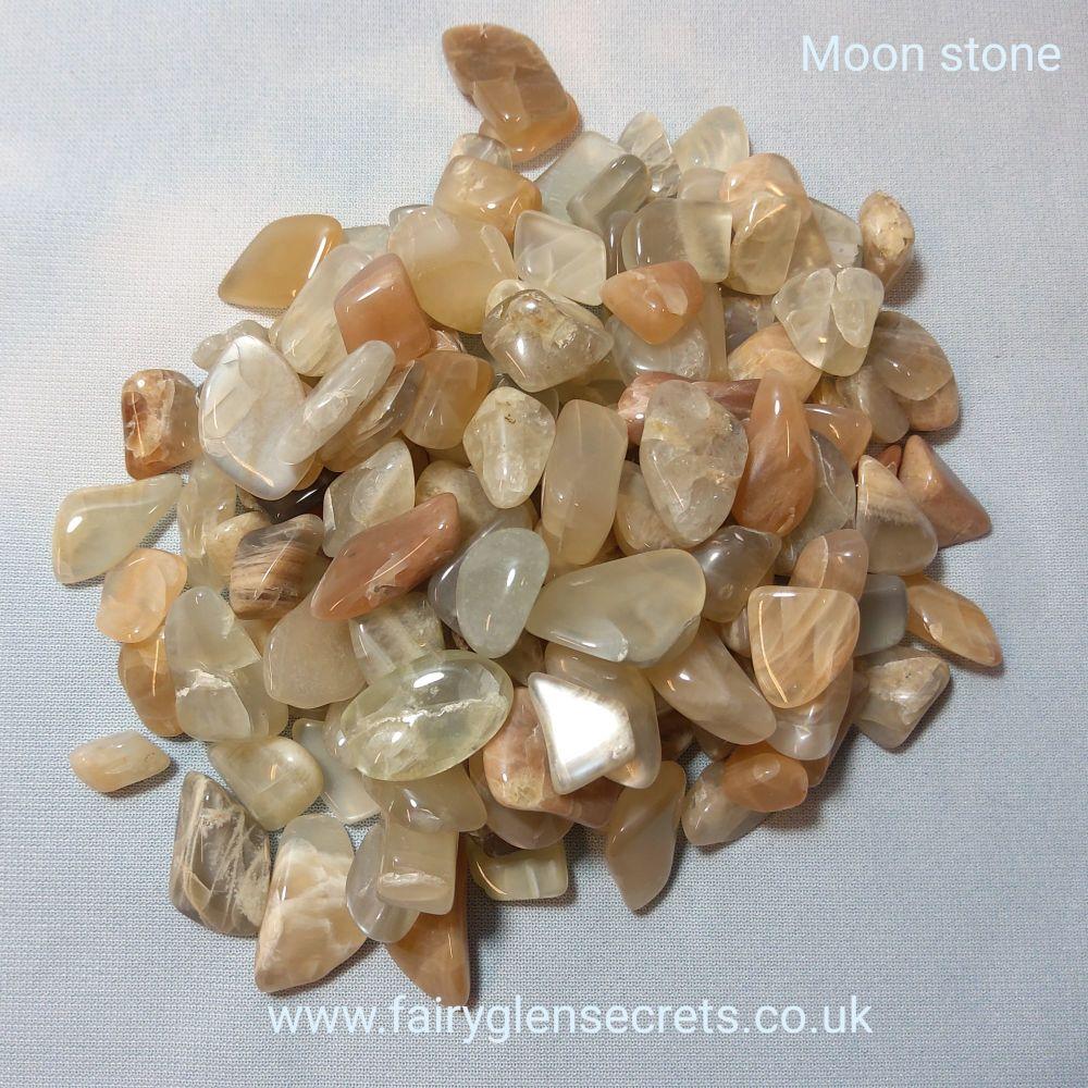 Moon Stone Tumble Stone