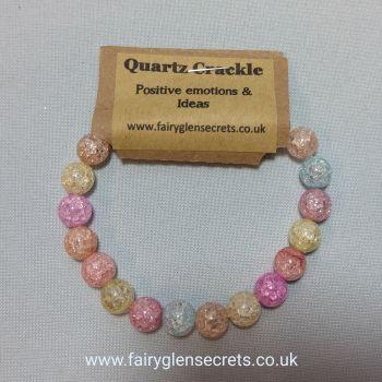 Power Bracelet Quartz crackle