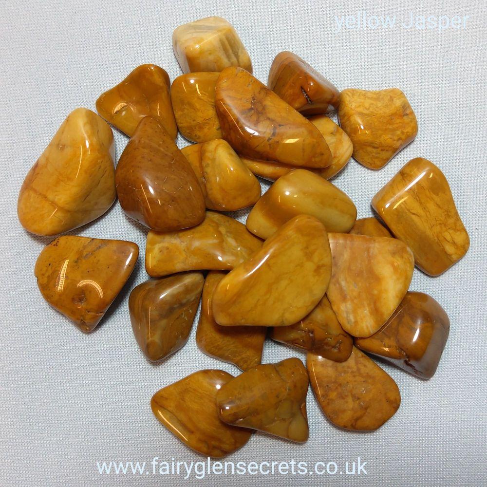 Yellow Jasper Tumble Stone