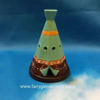 Teepee incense cone holder
