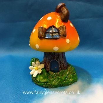 Toadstool  - Orange - Incense holder