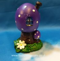 Toadstool - Purple - incense holder