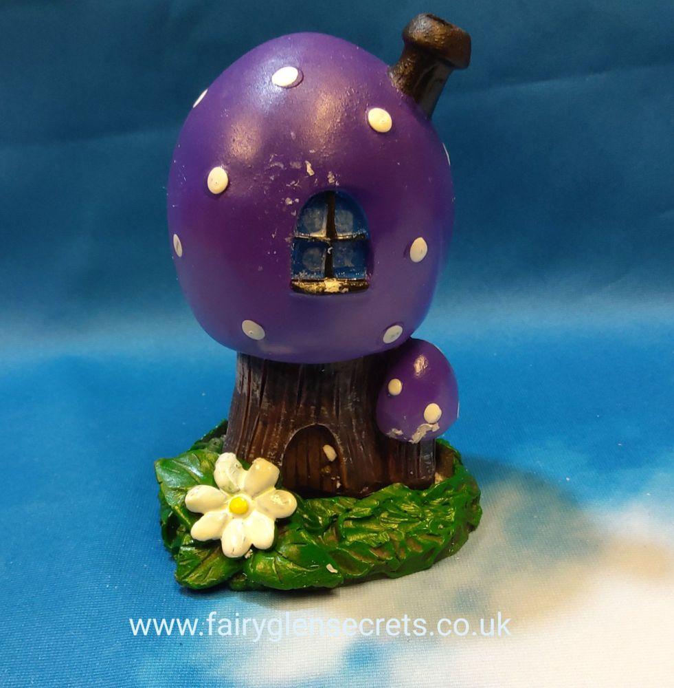 Toadstool - Purple - incense holder