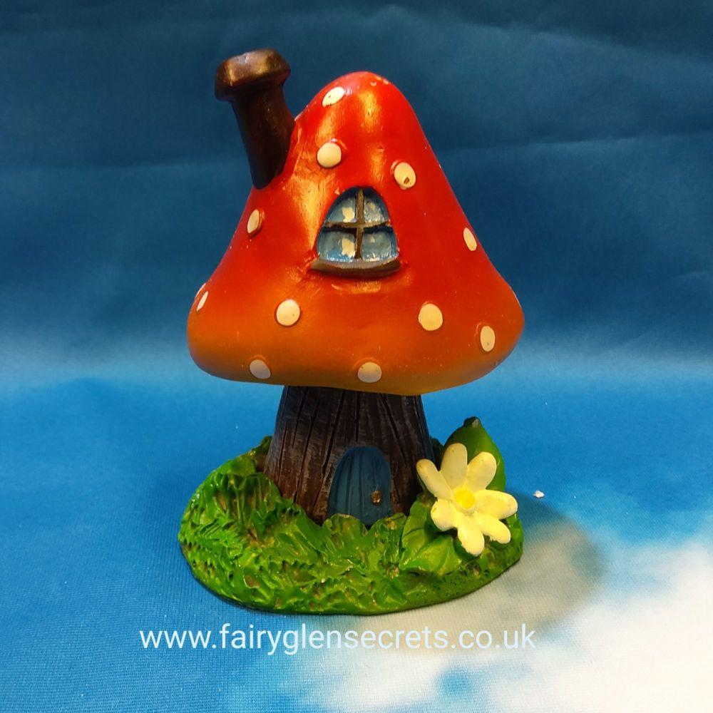 Toadstool - Red - incense holder